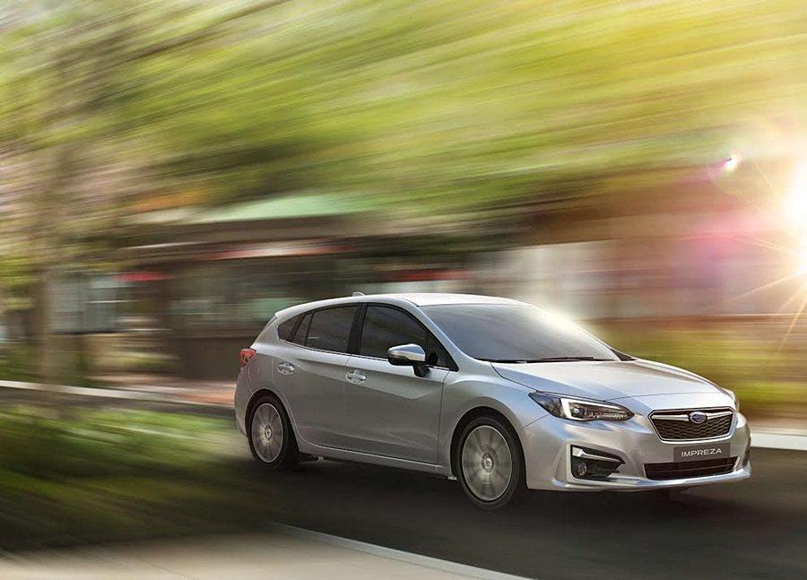 第五代subaru Impreza 搭載全新底盤明年首季抵台 車壇速報