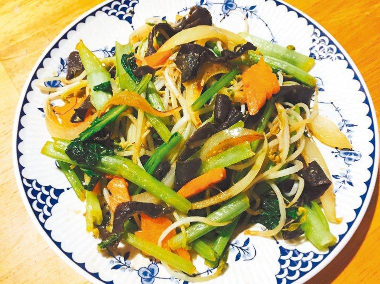 味噌野菜炒