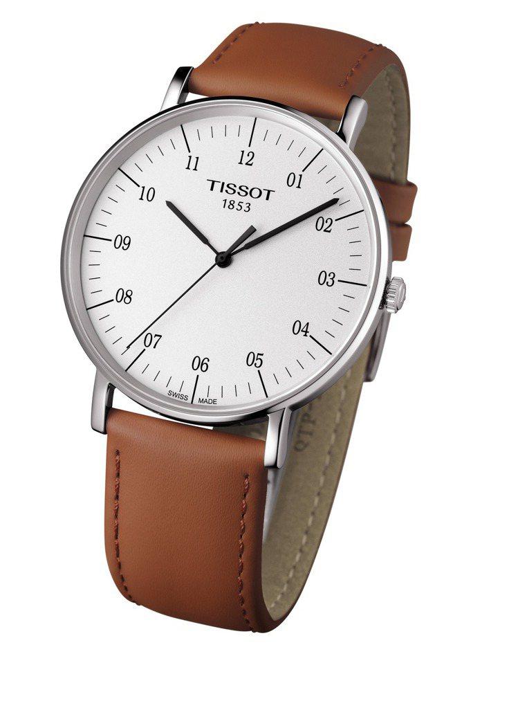 天梭時魅Everytime系列腕表,6,700元。圖/TISSOT