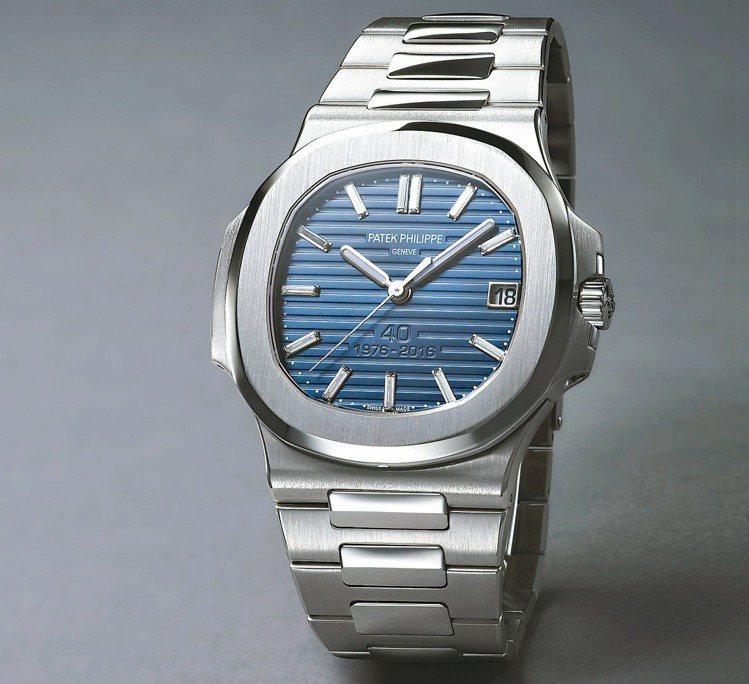 Ref.5711.1P百達翡麗金鷹40周年紀念自動腕表,40mm,鉑金,自動上鍊...