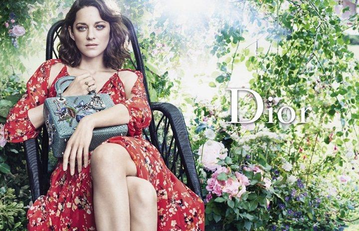 瑪莉詠柯蒂亞一向給人優雅知性氣質,被Dior相中,代言Lady Dior包已9年...