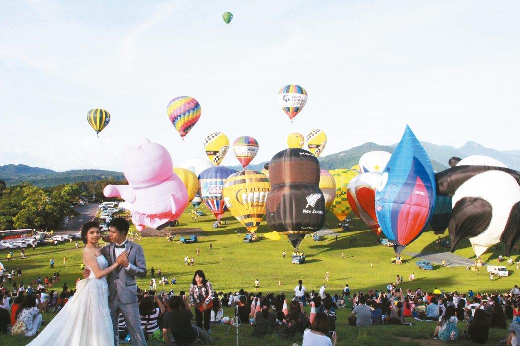 自然景觀豐富的台東縣,近年靠著行銷熱氣球嘉年華策略奏效,帶動觀光客以及就業人數成...