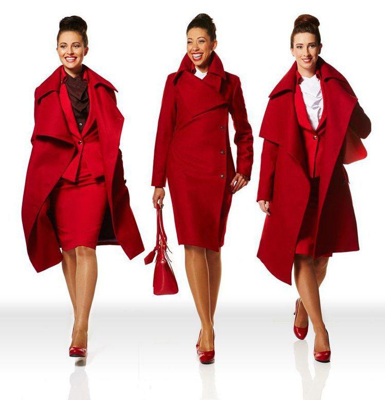 龐克教母Vivienne Westwood也曾經為維珍航空設計出大膽的紅色制服。...