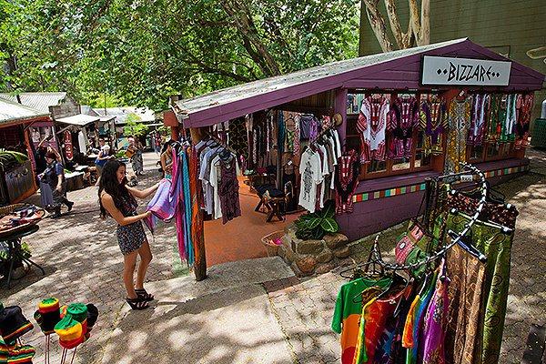 庫蘭達市集頗受遊客歡迎。圖/澳洲昆士蘭州旅遊暨活動推廣局提供