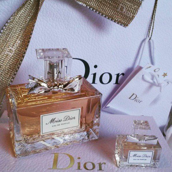 Miss Dior香氛。圖/翻攝自irenemrn64 instagram