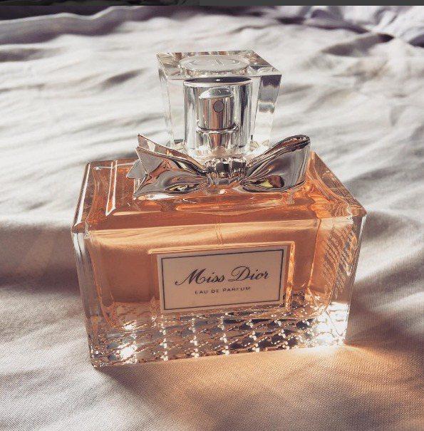 Miss Dior香氛。圖/翻攝自nurhaya87_ instagram