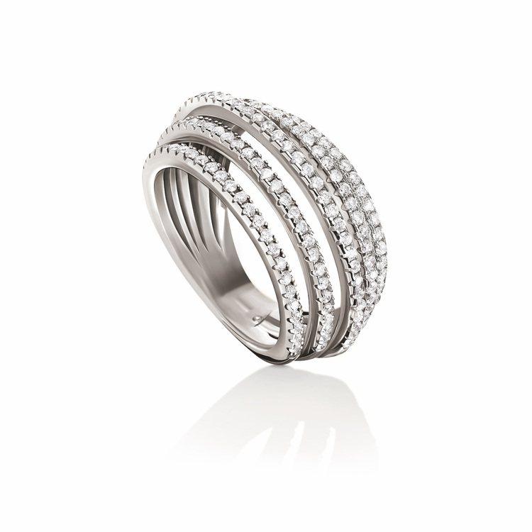 Fashionably Silver系列戒指,3,590元。圖/Folli Fo...