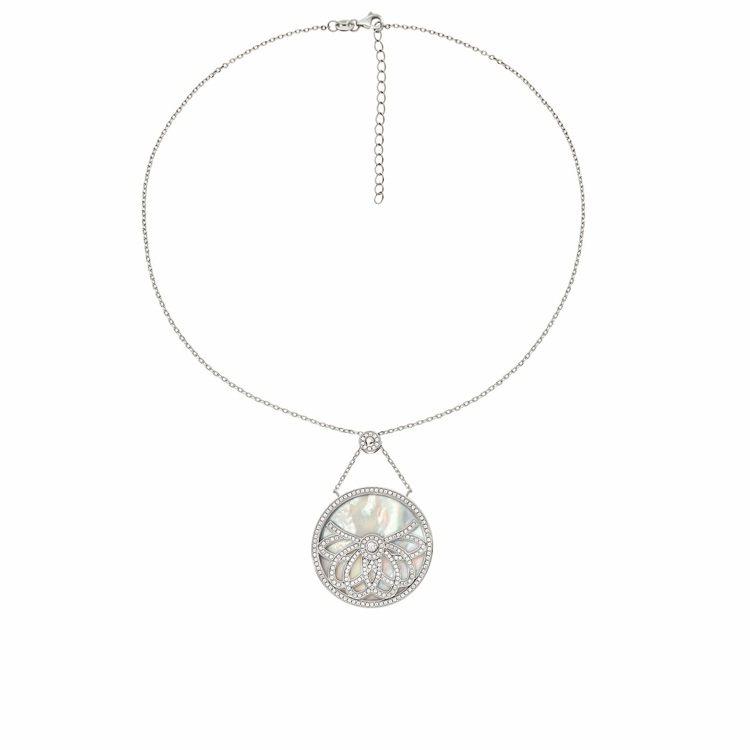 Fashionably Silver系列項鍊,5,790元。圖/Folli Fo...