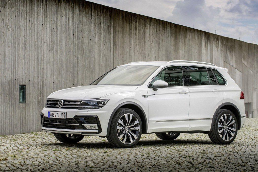 VW TIGUAN一上市就造成熱烈搶購。 圖/台灣福斯提供