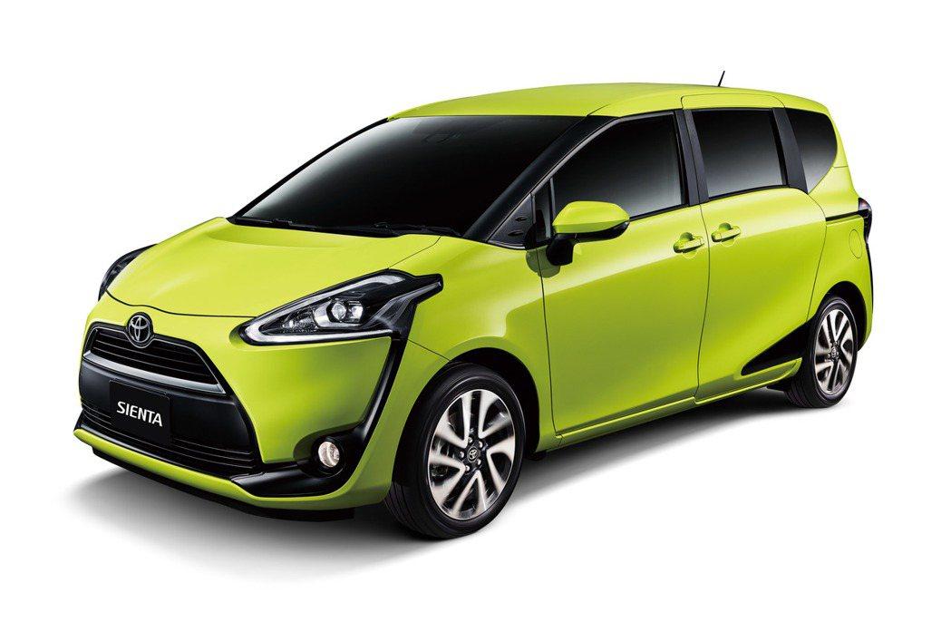 話題車款TOYOTA SIENTA即將於本月發表。 圖/和泰汽車提供