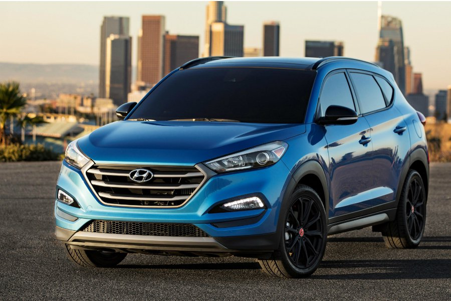 Hyundai 將於年底在美推出〈Tucson Sport Night〉限量特仕車,並且在尚未上市的情況下率先公佈北美售價。 摘自 Hyundai