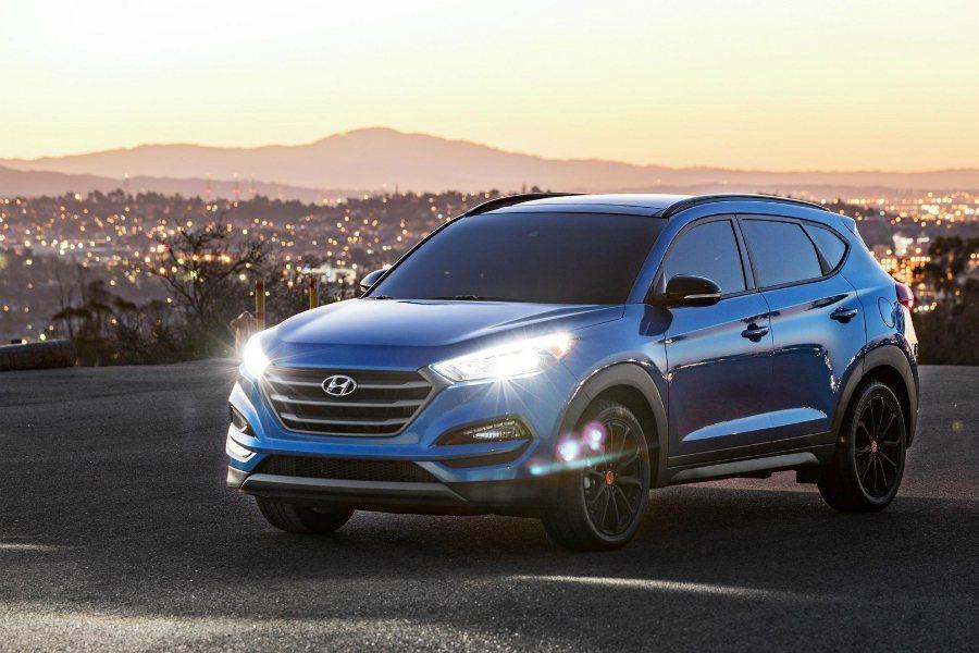 Tucson Sport Night 最大馬力為 175 匹/26.9 公斤米,並提供前輪驅動與四驅車型。 摘自 Hyundai
