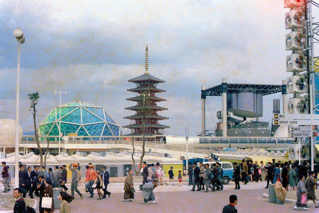 1970大阪萬博的紀錄照。 圖/維基共享