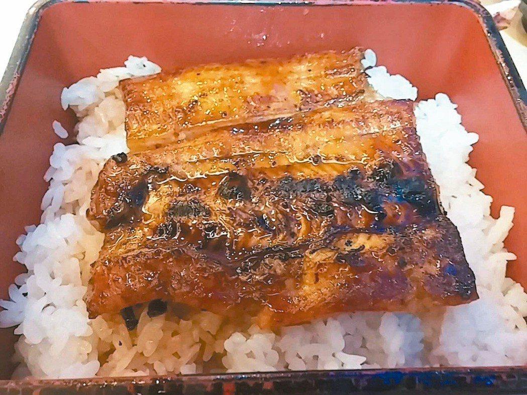 令人食指大動的鰻魚飯。圖/報系資料照