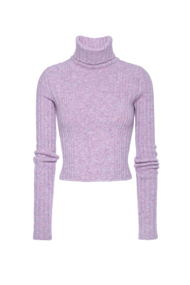 Blumarine以夢幻的粉色調展現冬日裡的柔美。圖/Blumarine提供