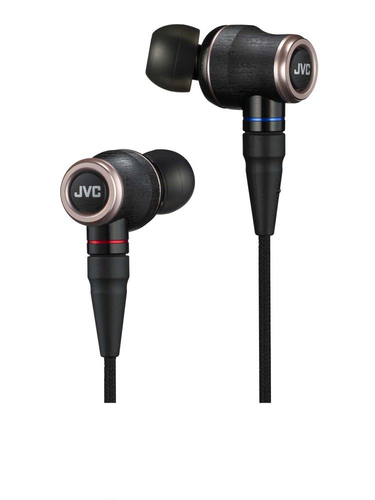 JVC木質振膜入耳耳機HA-FW01,建議售價16,990元。圖/JVC提供