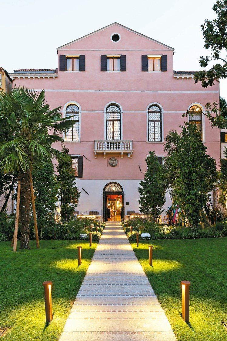 威尼斯雲水之都有18間風格裝潢各具特色的套房。 圖/雲朗集團提供