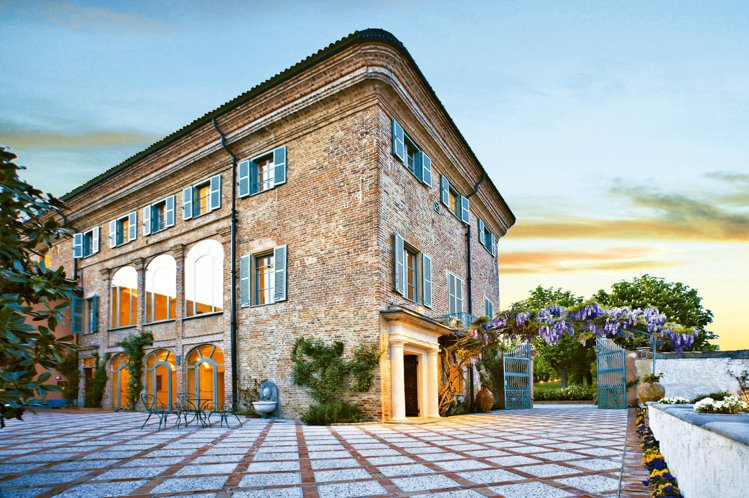 聖莊原是一座古老修道院。 圖/雲朗集團提供