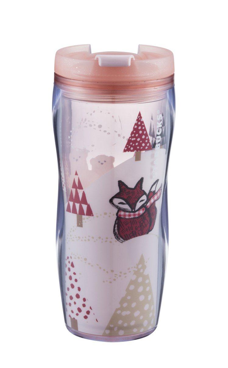 森林小狐隨行杯(12oz),400元。圖/統一星巴克提供