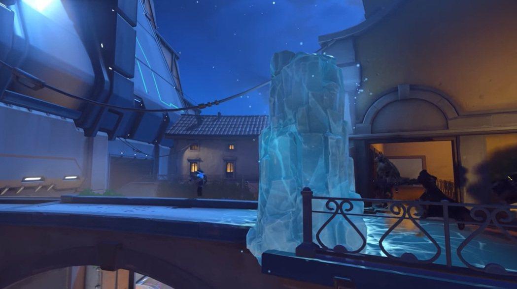 小美的冰牆有著很大的戰略價值。