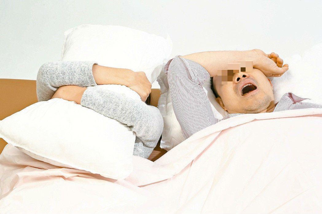 夜晚睡眠品質不佳,隔日醒來常會精神不繼。本報資料照