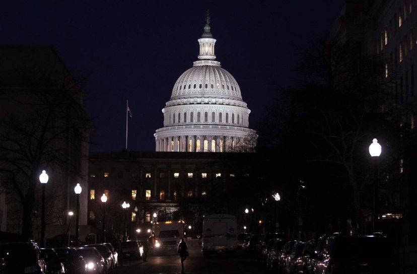 美國總統之權力看似能在國際間呼風喚雨,這些權力實際上都是被立法機關所約束的。圖為...
