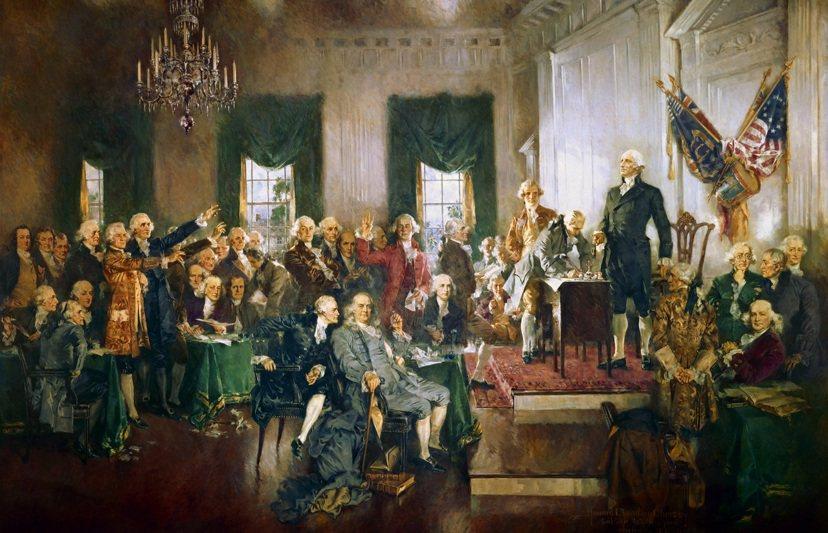 雖然美國憲法並沒有白紙黑字地明列聯邦政府權力性質屬於三權分立,然而這卻是憲法背後...