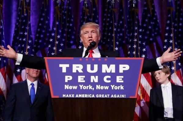 過去24小時/川普當選美國第45任總統