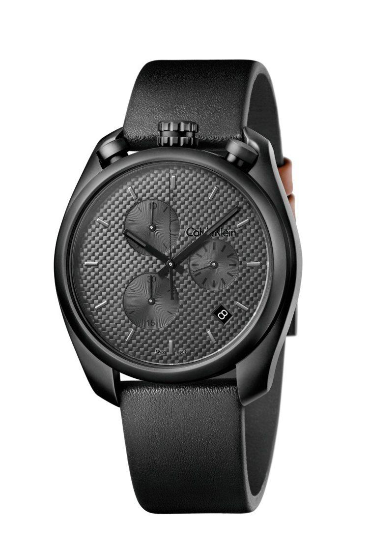 Calvin Klein control掌控系列腕表,13,800元。圖/cal...