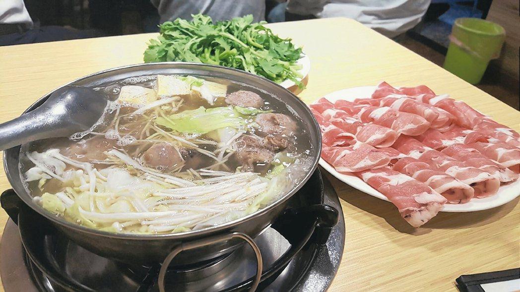 冬日是吃火鍋好季節。 中央社