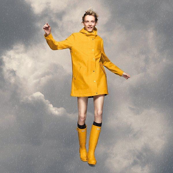 全新推出的「Original CORE Concept」系列包含三款雨衣。HUNTER提供