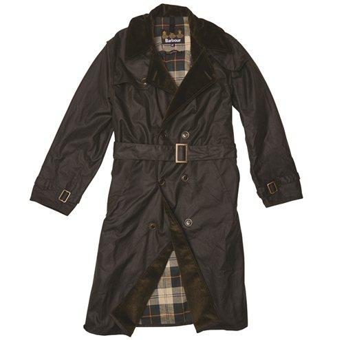 Japan Slim Line Wax Whitley Trench風衣,售價1萬8800元。Barbour提供