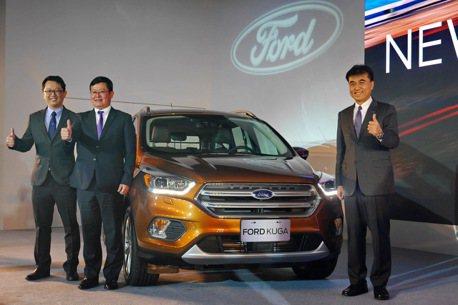 小改款Ford Kuga升級有感售價維持 迎戰同級距對手
