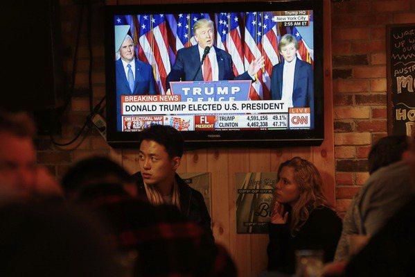 川普當選美國總統 紐時:唾棄現行體制