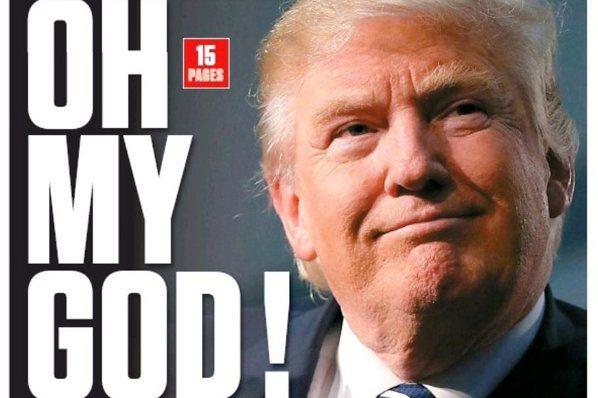 過去24小時/大選後的美國頭版頭:「是川普!!!」