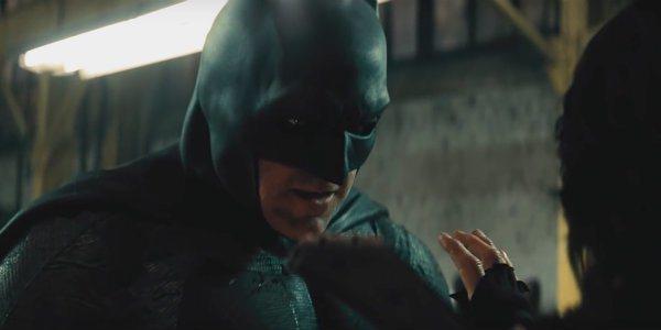 班艾佛列克演出「蝙蝠俠」。圖/華納兄弟影業提供