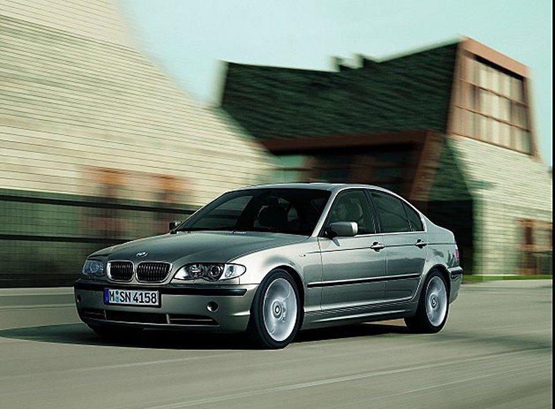 BMW3系列房車(E46)車型。 BMW提供