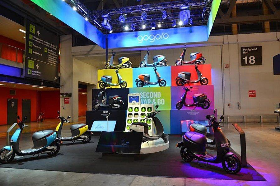 Gogoro受邀參加義大利米蘭國際機車展(EICMA),展示新產品Gogoro ...
