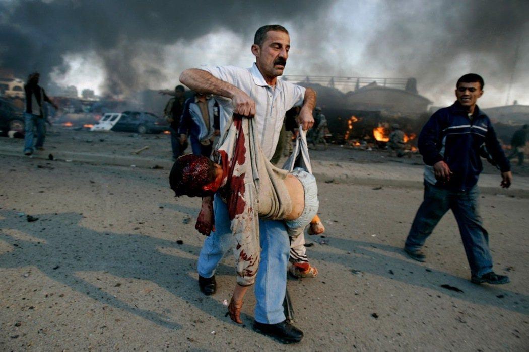 入侵伊拉克,至今仍是美國的夢魘;當然,對伊拉克人也一樣。圖為2007年的巴格達,...