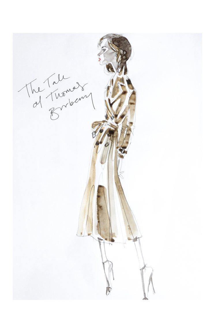 經典風衣的設計也是耶誕節慶短片「The Tale of Thomas Burbe...