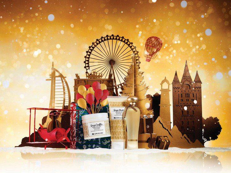 品木宣言耶誕主題是金色,推出6款售價1,080元、1,680元、1,880元禮盒...
