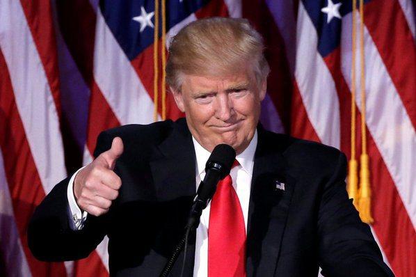 川普選後首專訪:我當總統 大家免驚