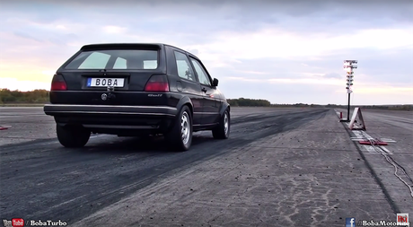 1,200匹馬力的VW Golf羊皮狼 性能兇猛
