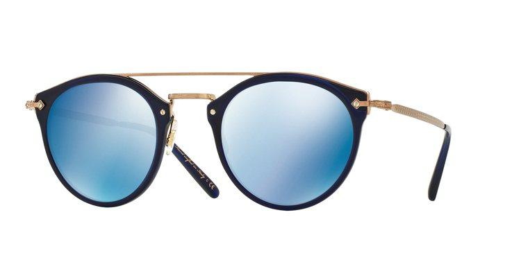 Oliver Peoples Remick系列太陽眼鏡,13,750元。圖/Lu...