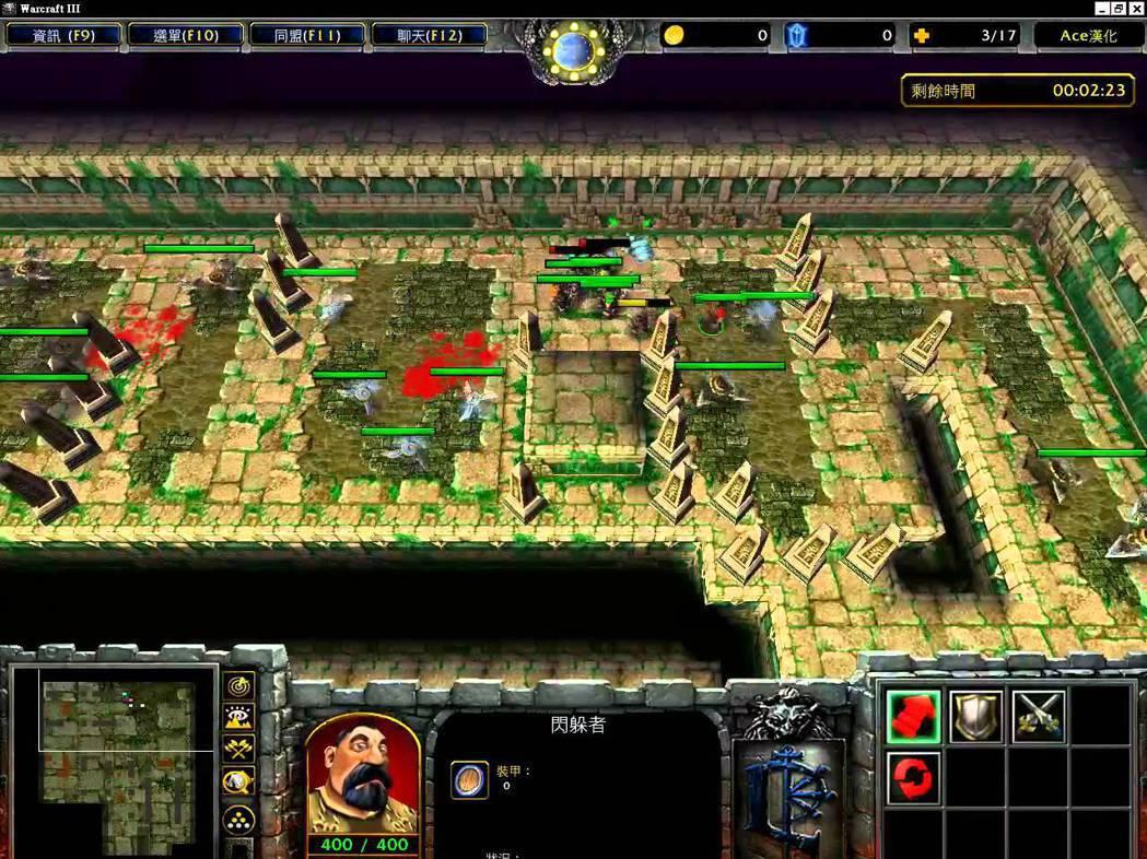 《金字塔大冒險》是魔獸爭霸中非常經典的一張自製地圖,此為正常版。