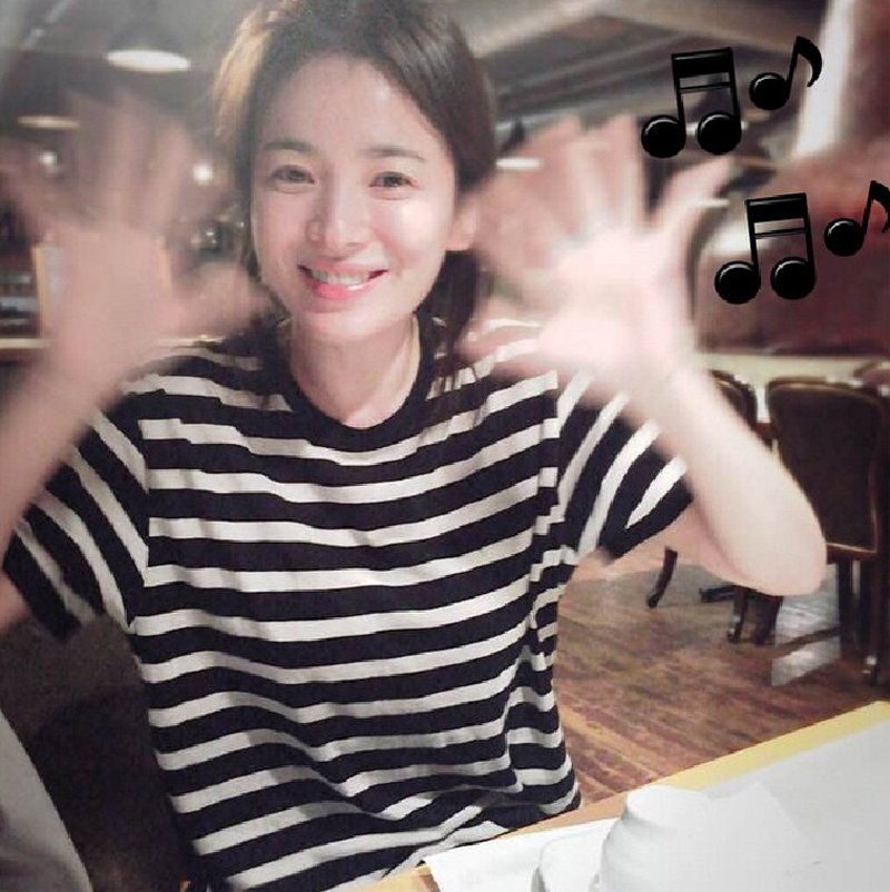 Image result for song hye kyo instagram