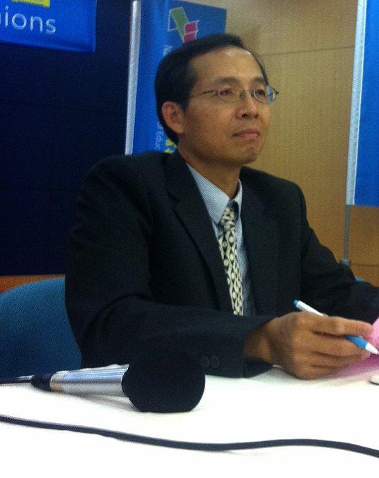 全教產理事長黃耀南。 圖/聯合報系資料照