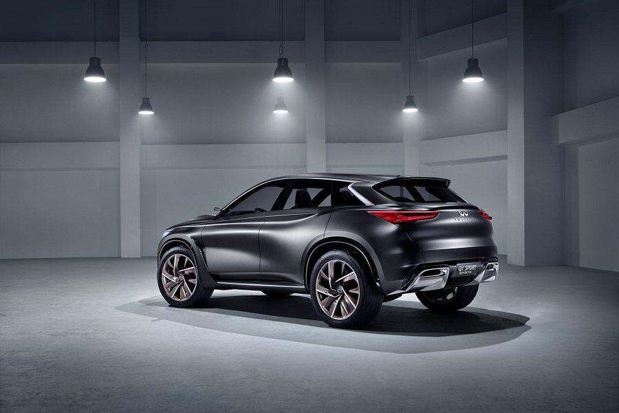 此次於 LA 車展登場的 QX Sport Inspiration 概念車將採用...