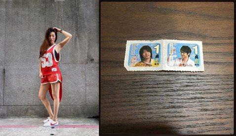 舞蹈老師KIMIKO,擁有一副好身材,不過最近在忙著搬家的她,竟然翻出一件古物,就是五月天的便利商店點數貼紙,她還笑問:「可以拿這個換門票嗎?」KIMIKO在臉書上分享在一張照片,並寫道:「其實我覺...