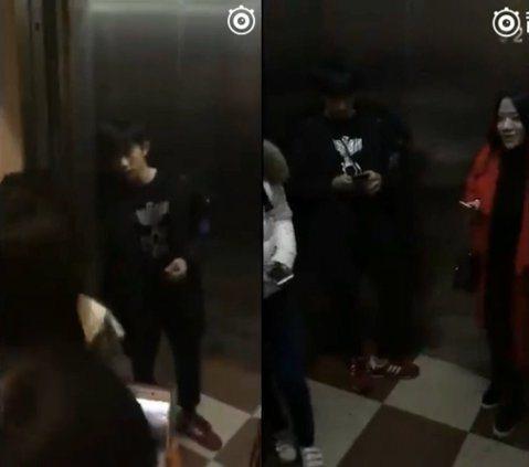 日前網路上流傳一段影片,就是偶像團體TFBOYS的成員易烊千璽,獨自一個人回飯店,但是身後跟著不少粉絲,甚至有粉絲跟著他進到到電梯裡,一直拿著手機拍他,而易烊千璽只能無奈的縮在電梯的角落內,低頭滑手...